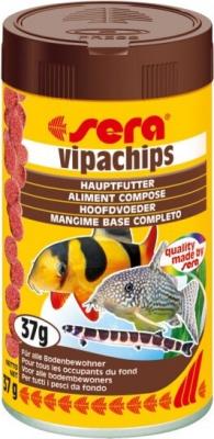Alimento en chips Vipachips para peces de fondo