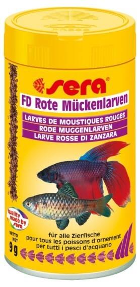 Friandises pour poissons larves de moustiques rouges for Nourriture pour poisson combattant