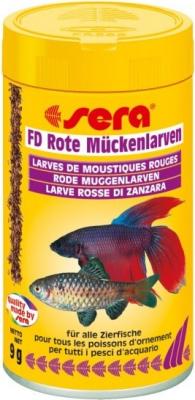 Friandises pour poissons - larves de moustiques rouges