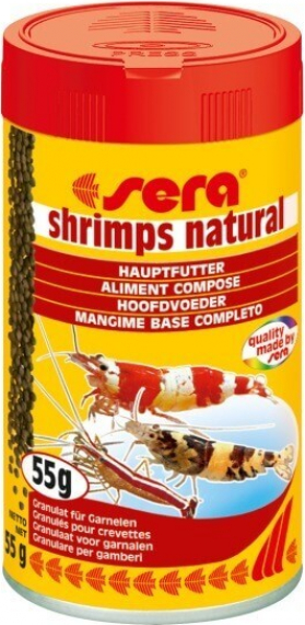 Shrimps Natural aliments pour crevettes