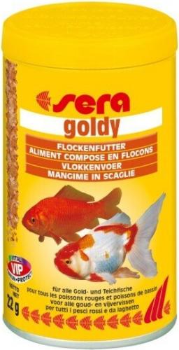 Goldy flocons pour poissons rouges nourriture en flocons for Flocon pour poisson