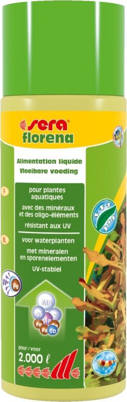 Sera Florena Engrais liquide pour plantes d'aquarium