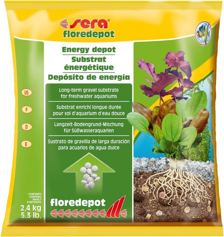 Sera Floredepot Substrat enrichi longue durée