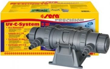 Clarificateur UV-C 5 watt pour aquariums d'eau douce et d'eau de mer