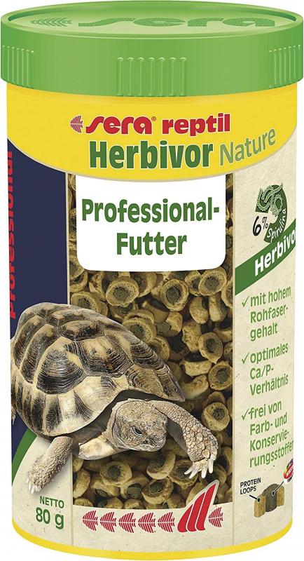 Sera Reptil Nature Herbivor Professional Aliment pour reptiles herbivores