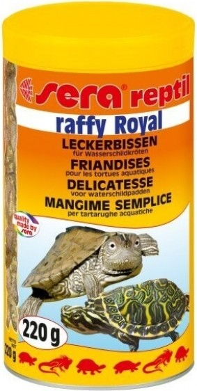 Raffy Royal petits poissons pour tortues aquatiques