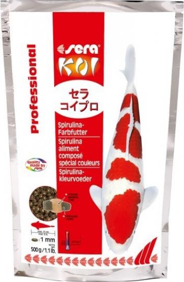 Koi Spirulina professional aliment composé spécial couleurs des Koïs