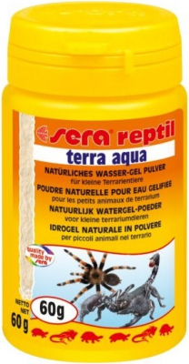 Reptil Terra Aqua poudre naturelle pour eau gélifiée