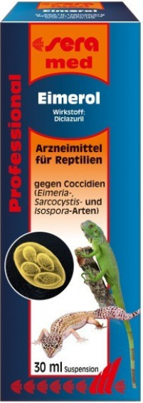 Med Professional Eimerol medicamento contra la coccidiosis