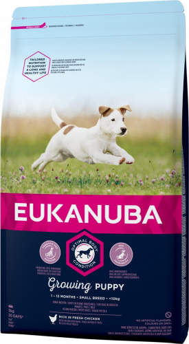 Eukanuba Growing Puppy Small Breed pour chiot de Petite Taille