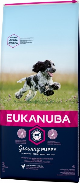 Eukanuba Medium Breed Puppy