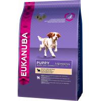 Eukanuba Puppy Agneau & Riz pour Chiot de Petite et Moyenne Taille