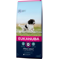 Eukanuba Active Adult Medium Breed Pour Chien de Taille Moyenne