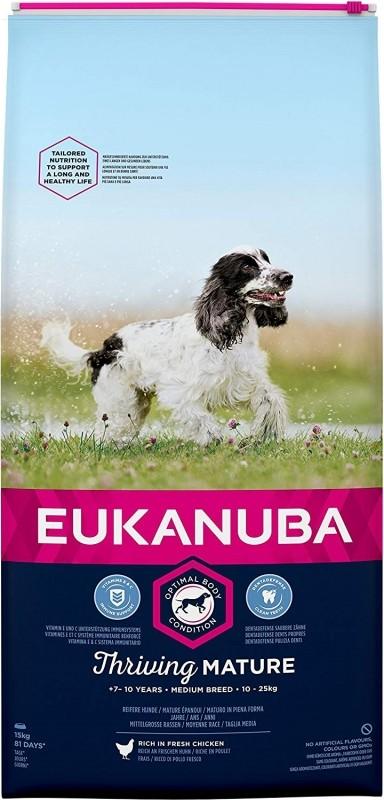 Eukanuba Mature & Senior pour Chien Senior de Taille Moyenne