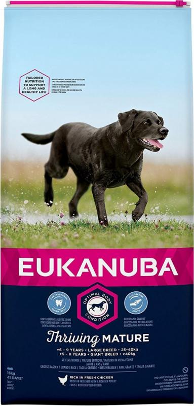 Eukanuba Mature & Senior Grandes races