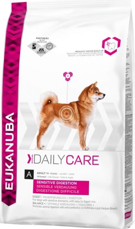 Eukanuba Daily Care Sensitive Digestion pour Chien Adulte Sensible