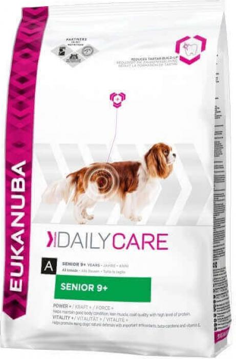 Eukanuba Daily Care Senior 9 + pour Chiens Seniors Toutes Races
