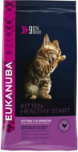 Eukanuba Kitten Hühnchen und Leber für Kätzchen