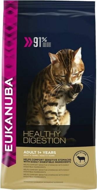 Eukanuba Healthy Digestion pour chat Adulte Sensible