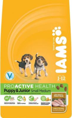Iams Puppy Small and Medium pour chiots de petite et moyenne race