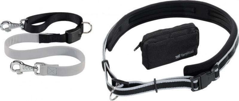 Kit ergocomfort freetime ceinture + laisse + sacoche
