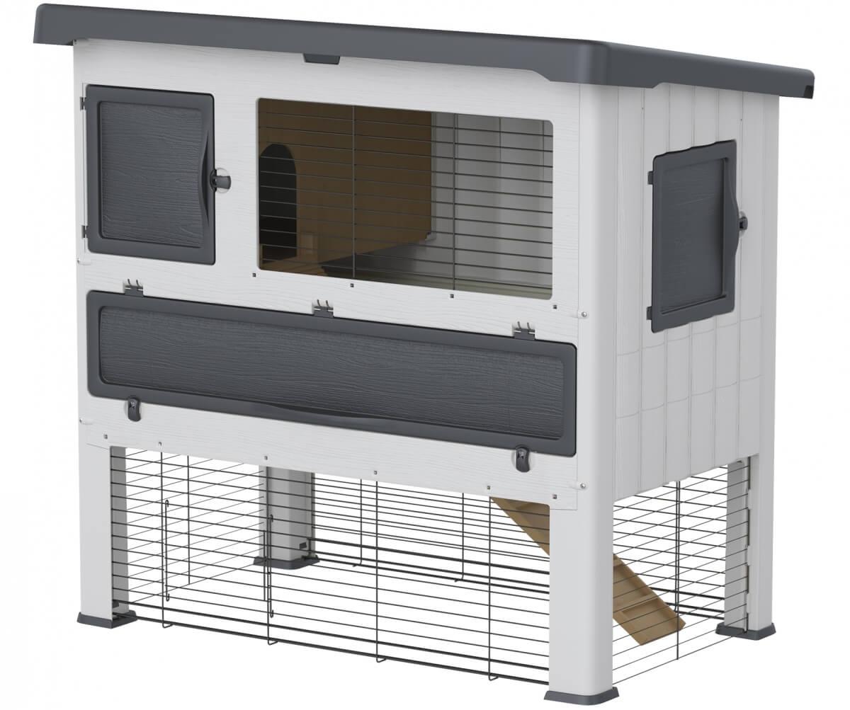 clapier grand lodge clapier lapin. Black Bedroom Furniture Sets. Home Design Ideas