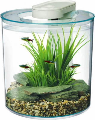 Aquarium Kit Round 360° 10L