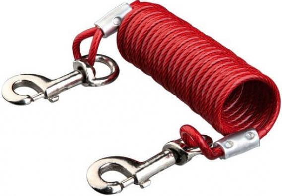 Cadena de atar con cable en espiral