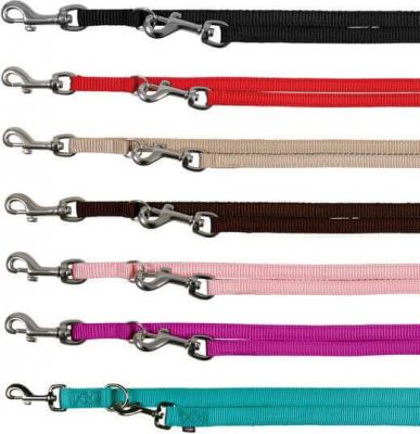 Premium Laisse réglable plusieurs coloris motif droit