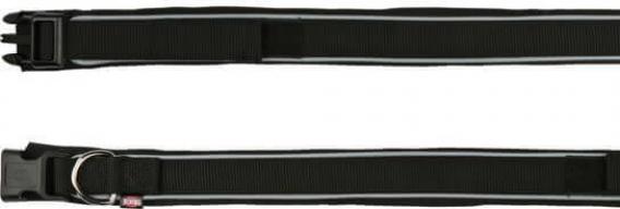 Premium Collier avec doublure néoprène Noir - Extra Large