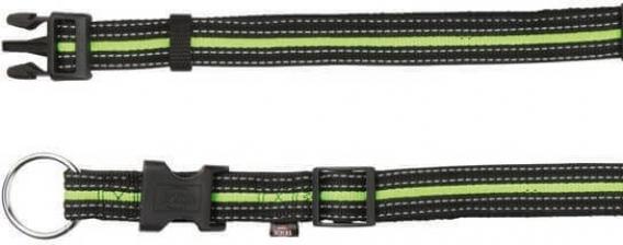 Fusion Collier noir et vert