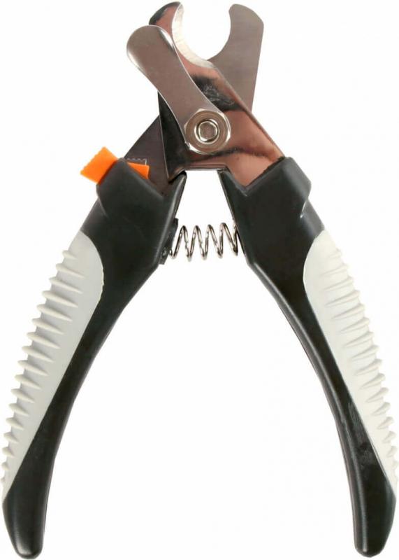 Pince coupe-ongles avec sécurité