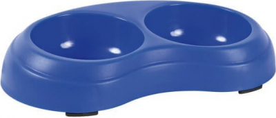 Plastic Double Bowl