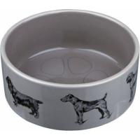 Ecuelle céramique chien à l'affut