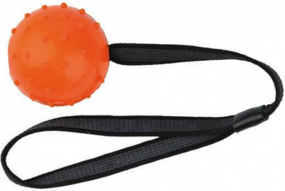Ball on a Nylon Strap, Natural Rubber