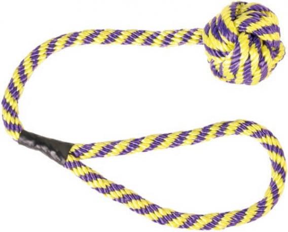 Jouet balle pour chien avec corde Drifty