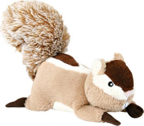 Peluche pour chien écureuil