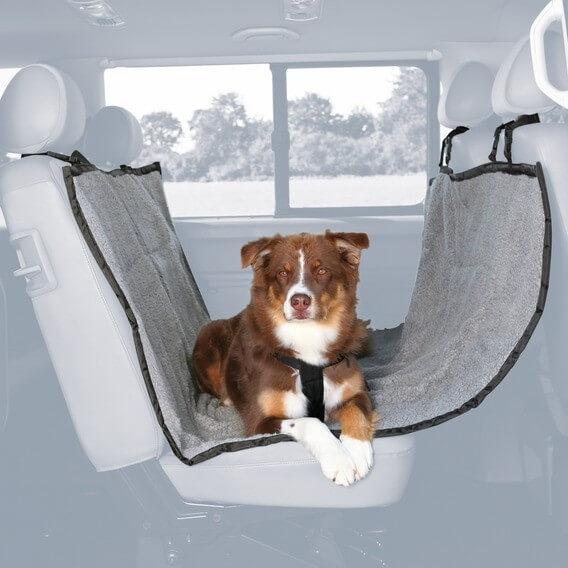 prot ge si ge de voiture polyester accessoires voiture chien. Black Bedroom Furniture Sets. Home Design Ideas