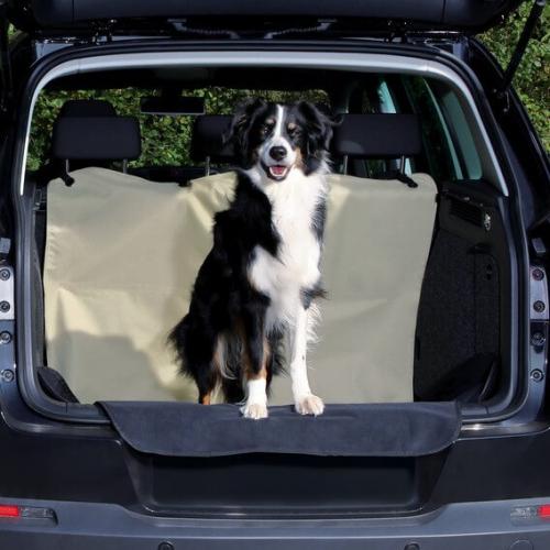 prot ge coffre voiture beige x transport du chien en voiture. Black Bedroom Furniture Sets. Home Design Ideas