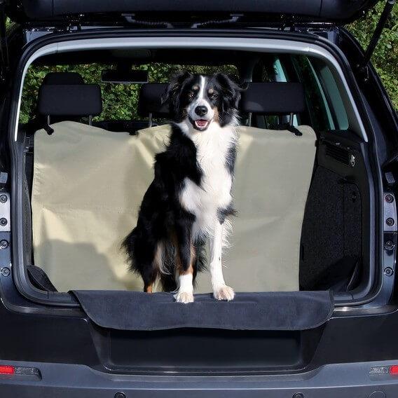 prot ge coffre voiture beige x accessoires voiture chien. Black Bedroom Furniture Sets. Home Design Ideas
