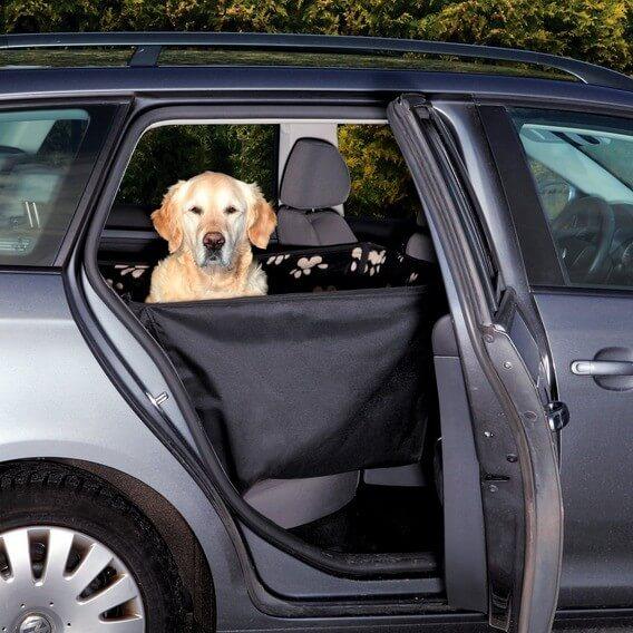 prot ge si ge de voiture avec protections lat rales accessoires voiture chien. Black Bedroom Furniture Sets. Home Design Ideas