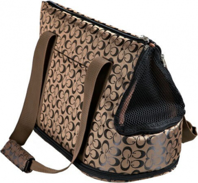 Sac Georgia en nylon - Bronze / noir