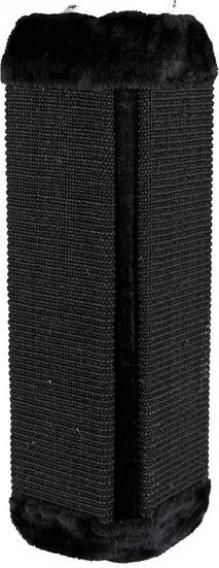 Griffoir d'angle noir ou brun avec peluche