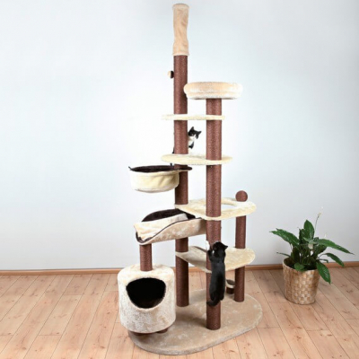 Nataniel Scratching Post, floor to ceiling