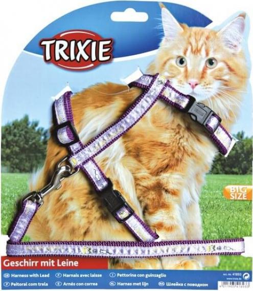 Harnais pour chats XL, nylon