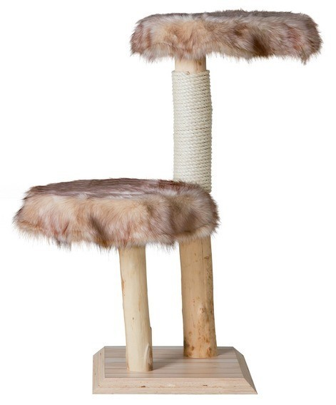 Arbre chat naturel classic no 3 love arbre chat - Arbre a chat bois naturel ...