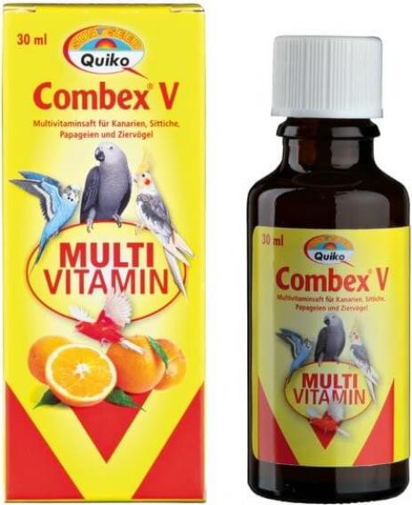 Combex V voor papegaaien en siervogels