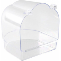 Baignoire, semi-circulaire transparent