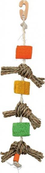 Jouet naturel en corde de sisal forme 3
