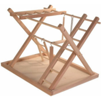Plateau de jeu en bois échelles
